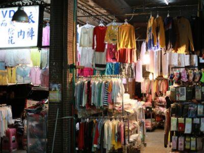 台北の服屋の写真