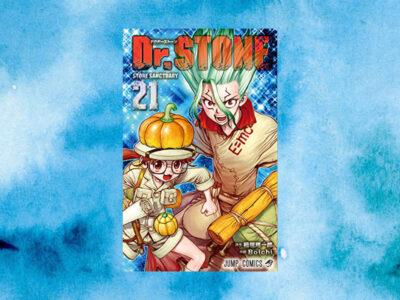 稲垣理一郎, Boichi『Dr.STONE 21』 (ジャンプコミックス)表紙画像